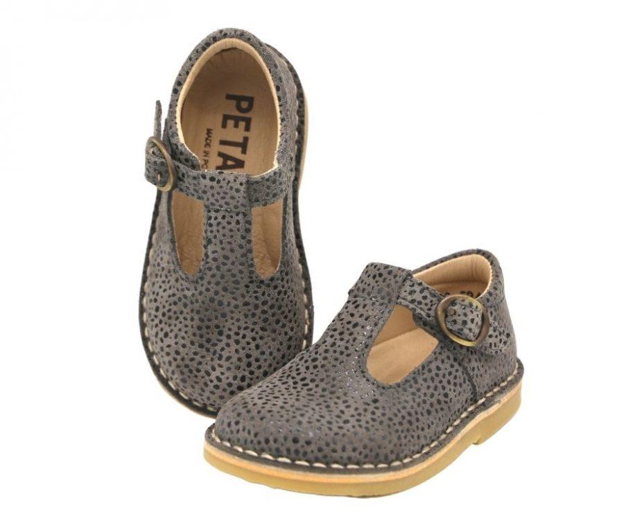 Petasil Crosspatch T-Bar Girl's Shoes