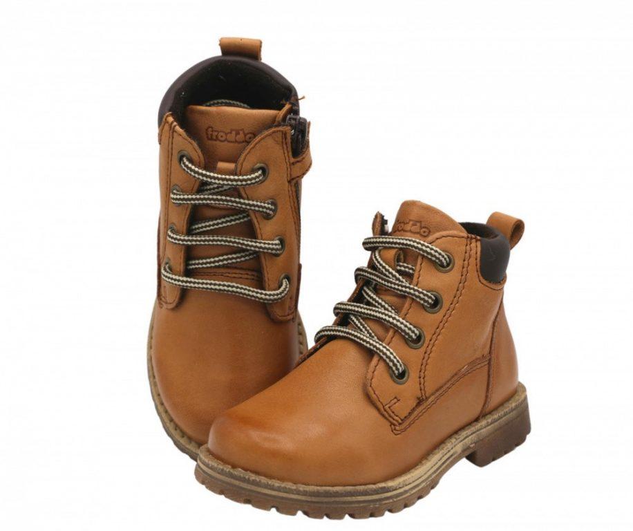Froddo Mono Unisex Kid's Ankle Boots Cognac (Brown)