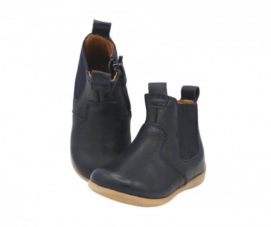 Froddo Gigi Chelys Girl's Chelsea Boots Navy Leather
