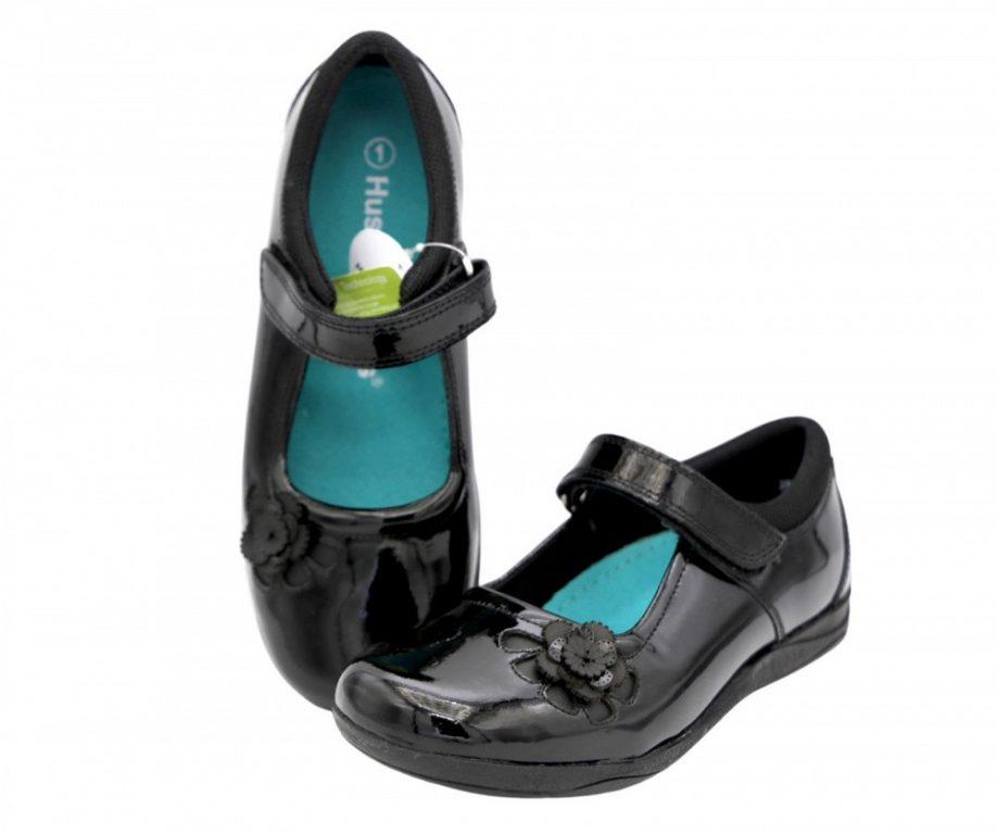 Hush Puppies Jessica School Shoes