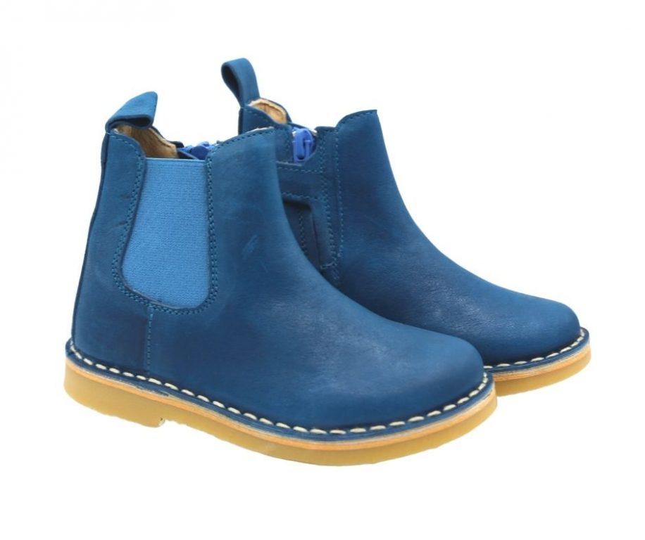 Petasil Kaz Girl's Chelsea Leather Boots