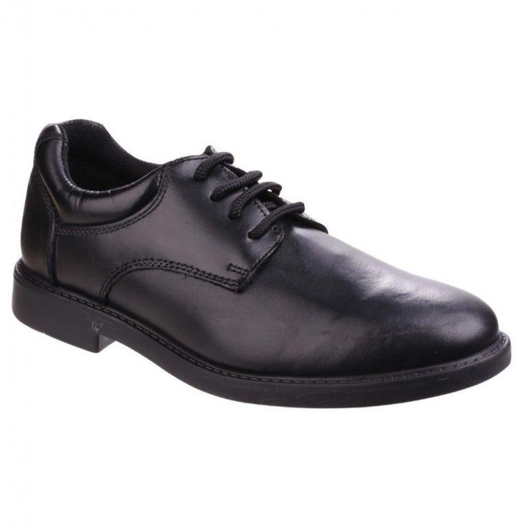 Hush Puppies Tim School Shoes