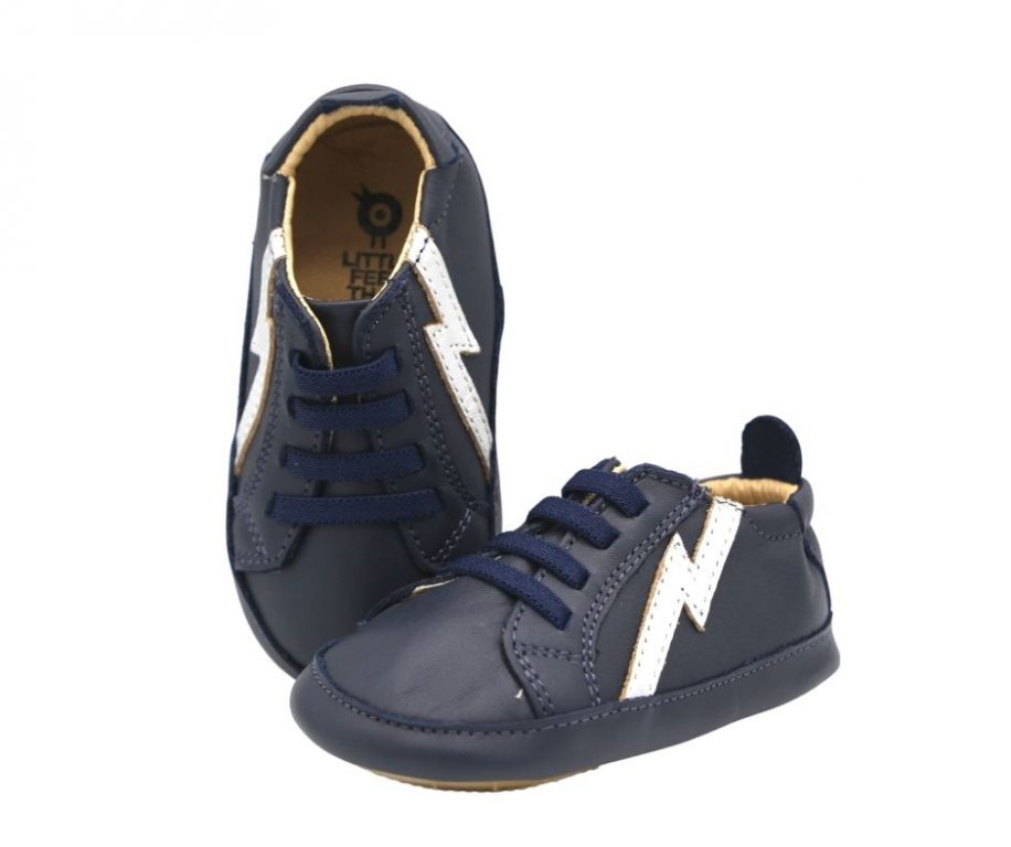 Oldsoles Bolty Baby Leather Shoes