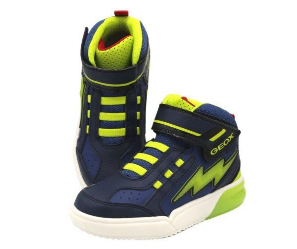 Geox Grayjay boys light up sneakers