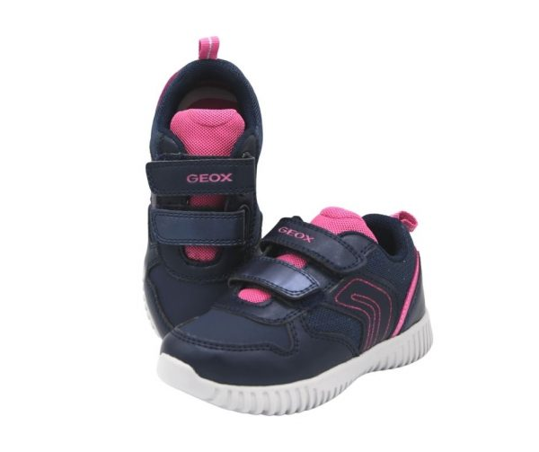 Geox Baby Waviness Girls Trainers