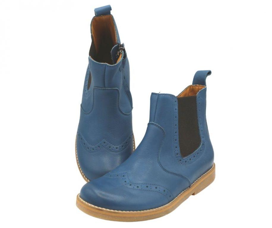 Froddo Girls Chelys Brogue Boots Demin