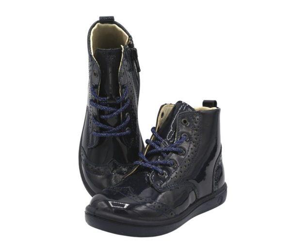 Ricosta Jenny Navy Girls Ankle Boots