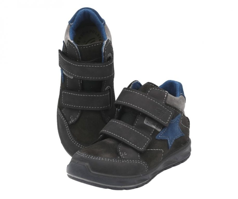 Ricosta Kimi Grey Waterproof Boys Boots