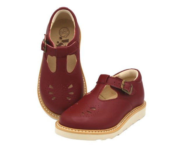 Young Soles Rosie Vegan T-Bar Shoes