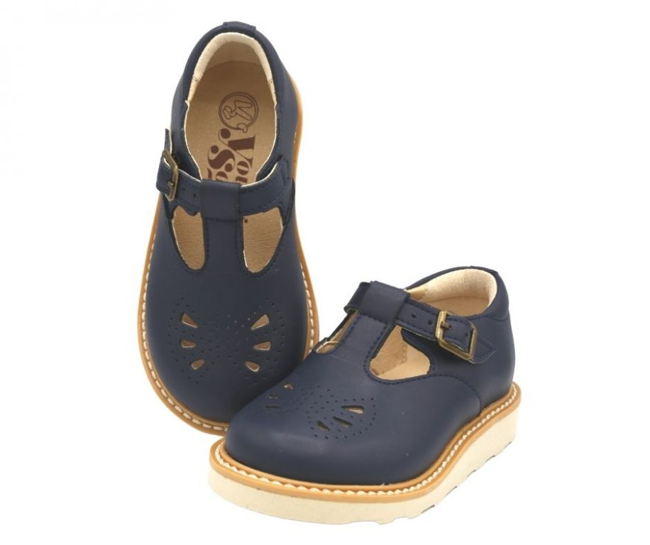 Young Soles Rosie Vegan Classic T-Bar Shoes