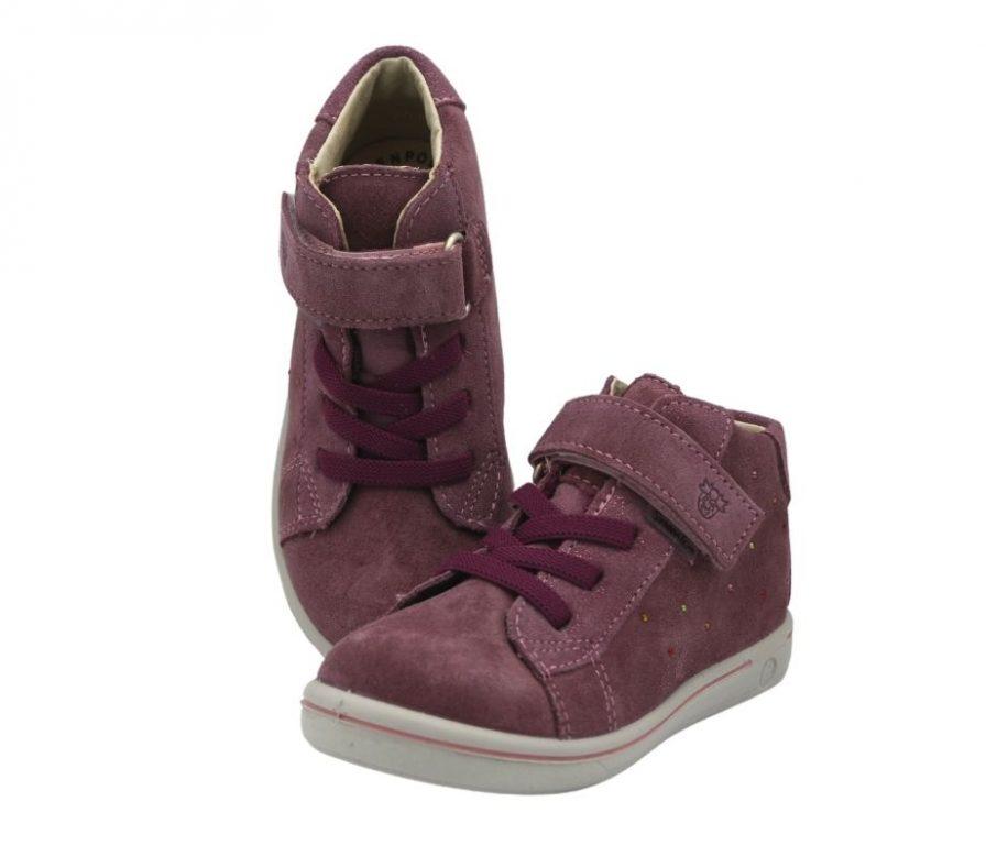 Ricosta Sanja Pink Girls Waterproof Ankle Boots