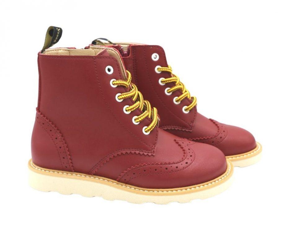 Young Soles Sidney Vegan Brogue Boots
