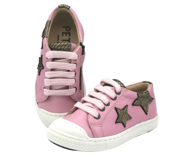 etasil Annabelle Girl's Casual Leather Trainers