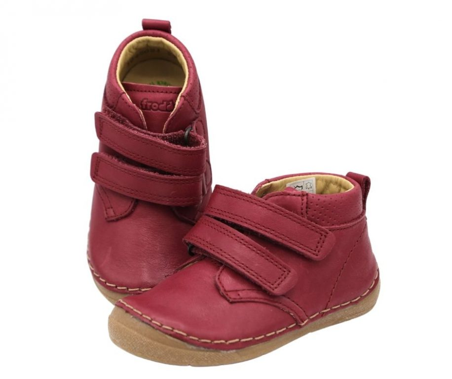Froddo Paix Girl's Ankle Boots Bordeaux