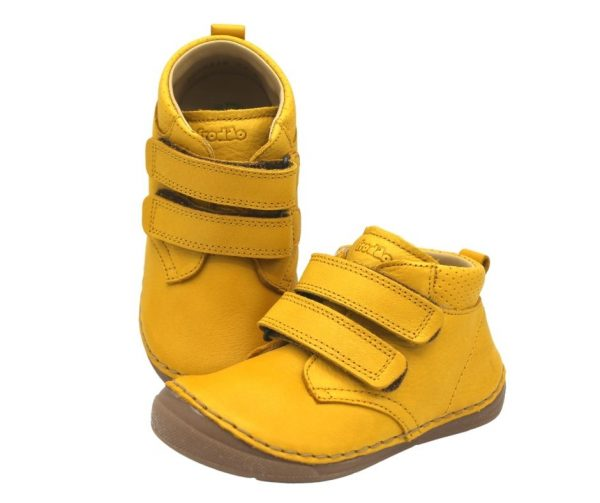 Froddo Paix Toddler Ankle Boots Yellow